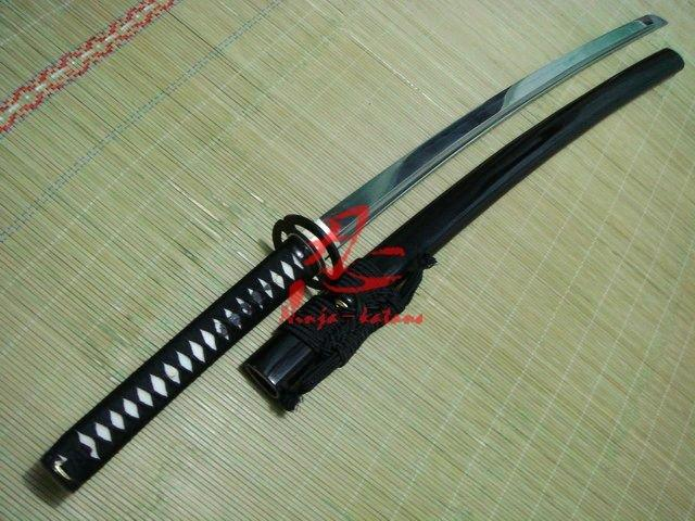Claying Tempered Sanmai Jp Musashi Katana Wave Hamon Sharpened