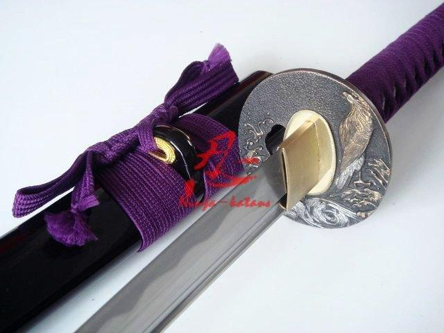 40.6 Handforged Katana Sword Eagle Tsuba Very Sharp