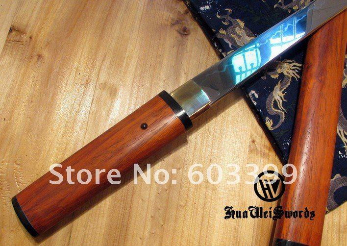 Handmade Clay Tempered Hira Zukuri O Tanto Razor Sharp