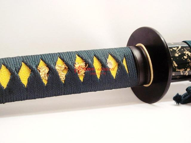 Handmade Japanese Samurai Katana Sword Full Tang Blade Sharpened Edge