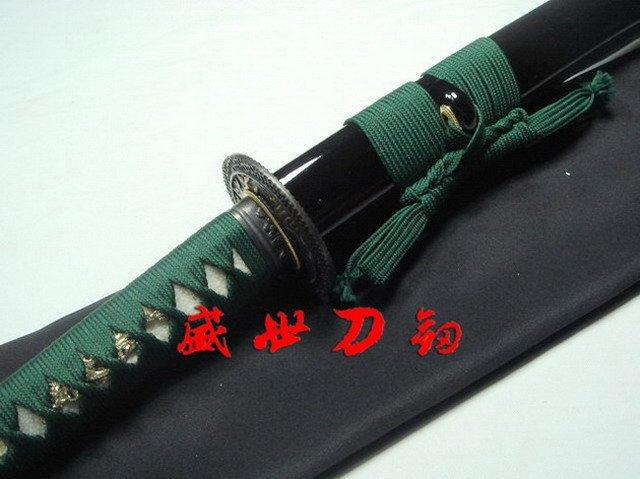 Hand Forged Japanese Tiger Tsuba Katana Sword Unsharp For Iaido Sword
