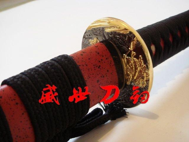 Hand Forged 1075 Carbon Steel Japanese Iaido Sword Unsharp Blade