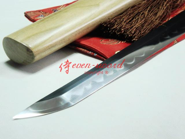 Top High Quality Clay Tempered Japanese Shirasaya Katana Razor Sharp Blade