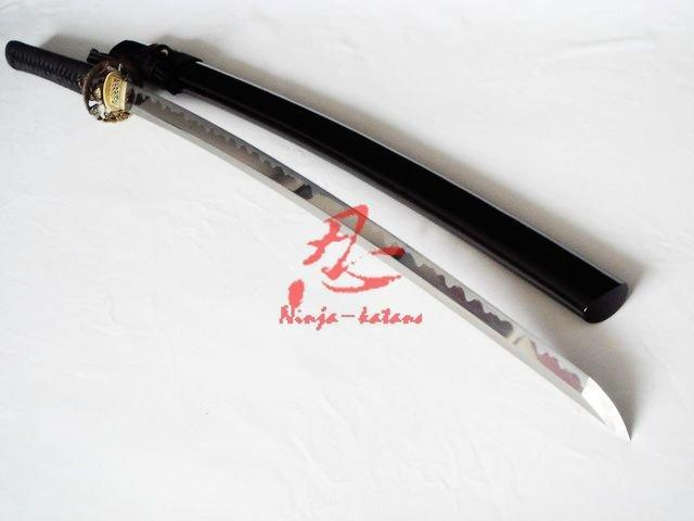 Hand Forged Sanmai Blade Battle Ready Katana Dragon Fittings