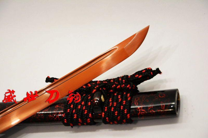 Battle Ready 9260 Spring Steel Blade Japanese Katana Tsuba Full Tang Sword